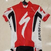 Jersey sepeda Specialized Original dengan bib original