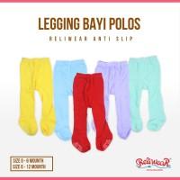 Legging Bayi Polos Cotton Rich Tights Tutup Kaki | Reliwear Baby