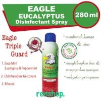 EAGLE EUCALYPTUS DISINFECTAN SPRAY 280 ML