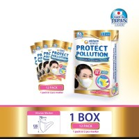 UNICHARM MASK PROTECT POLUTION 3D 1BOX!READY!