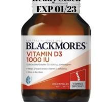 Blackmores vitamin D3 1000iu import australia