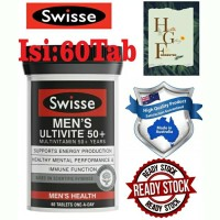 Swisse Men's Ultivite 50+ 60tab