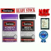 Paket Promo Swisse Women's & Men's Ultivite 50+ 60tab