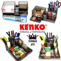 Kenko Desk Set K-158 / Tempat Alat Tulis / Desk Set Organizer BESAR