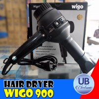 PENGERING RAMBUT PROFESIONAL HAIR DRYER WIGO 900 BLACK