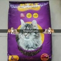 Makanan Kucing Bolt Ikan 8 Kg khusus Gojeg Grab