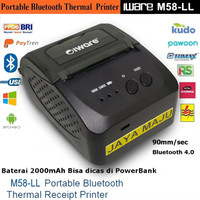 Portable Bluetooth Thermal Printer M58 New