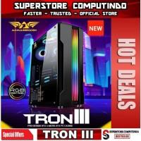 Armaggeddon Tron III - ATX Gaming Case Tempered Glass