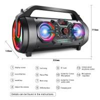 Speaker Javi Boombox Bluetooh Wireless CB005 Led Resmi SNI Javi