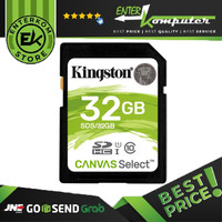 Kingston SDHC 32GB Canvas Select Class 10 UHS-I Read 80MB/s-SDS/32GB