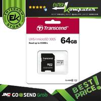 Transcend Micro-SDXC 300S 64GB Class 10 UHS-1 - TS64GUSD300S-A