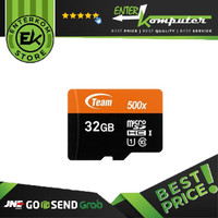 Team Micro SD UHS-1 32GB (80MB/S)
