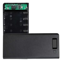 ROVTOP DIY Power Bank Case 8x18650 2 Port + Display - A8