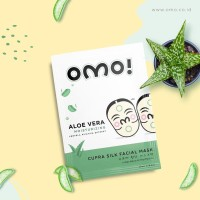 OMO! Cupra Silk Facial Mask Aloe Vera (7 pcs) Masker Wajah