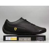 Sepatu Sneakers Desain Puma 100% ORI Warna Putih / Merah / Hitam