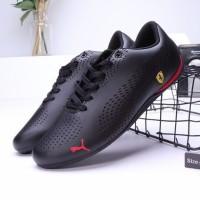 Sepatu Sneakers Casual Pria Model Puma Drift Cat 5 Warna Merah Men