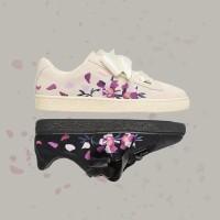 Sepatu Sneakers Olahraga Casual Model PUMA Rihanna Motif Bordir