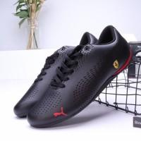 Sepatu Sneakers Casual Pria Model Puma Drift Cat 5 Warna Merah
