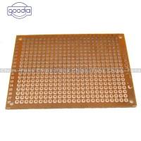✈✈ 1/5/10Pcs 5 x 7 cm DIY Prototype Paper PCB fr4 Universal