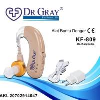 Hearing Aid Recharge KF 809 Alat Bantu Dengar Charger DR Gray KF-809