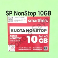 Perdana Kuota Data Smartfren 10GB NonStop