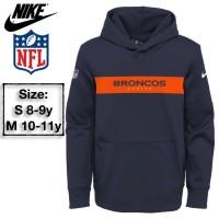Nike Jaket/Sweatshirt Hoodie Anak Broncos Branded Original