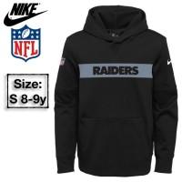 Nike Jaket/Sweatshirt Hoodie Anak Raiders Branded Original