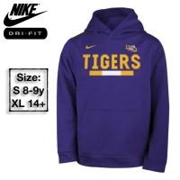 Nike Jaket/Sweatshirt Hoodie Anak Tigers Logo Branded Original