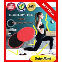Slider Disc Yoga Gliding Disc Fitness Core Full Body Exercise 2PCS