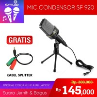 Mini Mic- Microphone Mini Jack 3.5 mm for Skype Gaming - Mic SF-920