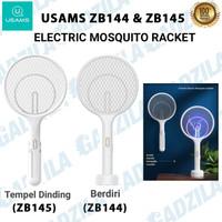 USAMS ELECTRIC MOSQUITO SWATTER 2IN1 KILLER UV LAMP RAKET NYAMUK