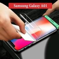 Samsung Galaxy A01 Anti Gores Hydogel Hydro Gel Screen Guard Protector
