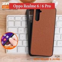 Oppo Realme 6 6 Pro Leather Hybrid Soft Case Casing Back Cover Silikon