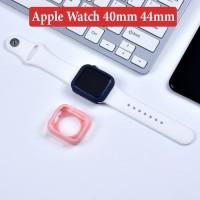 Apple Watch 40mm 44mm iWatch Soft Case Silikon Matte Doff Casing Cover