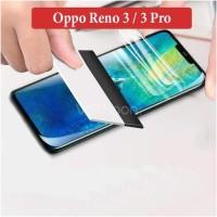 Oppo Reno 3 3 Pro Anti Gores Hydrogel Hydro Gel Screen Guard Protector