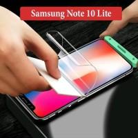 Samsung Note 10 Lite Anti Gores Hydrogel Depan Belakang Screen Guard