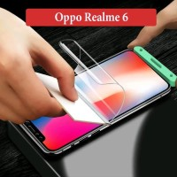 Oppo Realme 6 Anti Gores Hydrogel Depan Belakang Screen Guard Clear