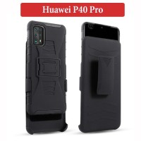 Huawei P40 Pro Future Armor Soft Case Casing Shockproof Back Cover