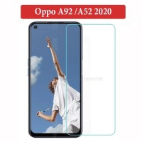Oppo A92 A52 2020 Anti Gores Tempered Glass Clear Screen Guard Bening