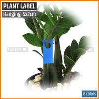 Label Tanaman / Plant Label / Tag, Model Gantung / Hang, Tipis, 2x5 cm