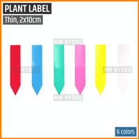 Label Tanaman / Plant Label / Tag, Tipis / Thin, 2x10 cm