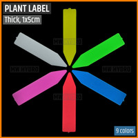 Label Tanaman / Plant Label / Tag, Tebal / Thick, 1x5 cm