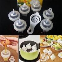 Eggies Egg Boiler Alat Rebus Telur - YD1106 - Transparent