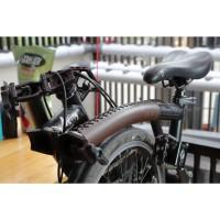 Frame Protector Cover Pelindung Da-bike Kulit Leather