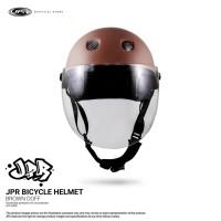 JPR SKATE/KACA - BROWN DOFF/WHITE