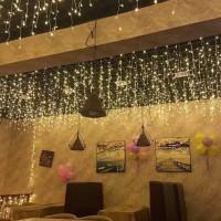 Lampu hias taman tumblr dinding natal waterproof 5 Meter
