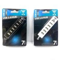 NYK 7 port USB HUB 2.0 High Speed ports - NYK-H-02 - Putih