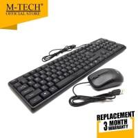 M-Tech Original Keyboard Combo Mouse STK-05
