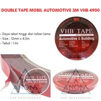 Lem Perekat Double Tape Mobil Automotive 3M VHB 4900 size 12mm x 4.5m