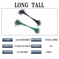 1 Pcs 15/20/25/30 cm Anti-gigitan Tali Memancing Tali Kawat Timbal